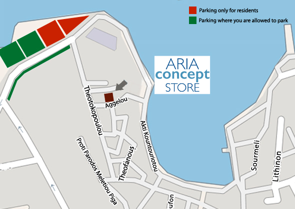 Parking Aria Concept Store